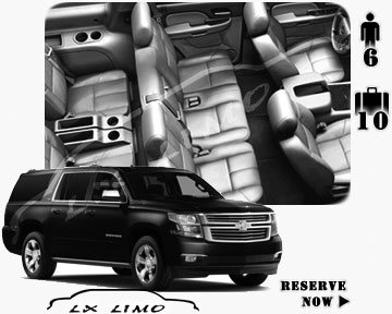 SUV Suburban for hire in Orlando
