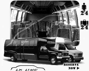 Bus for airport transfers in Orlando, FL