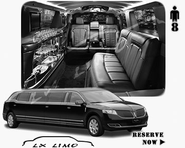 Stretch Wedding Limo for hire in Orlando, ON, Canada